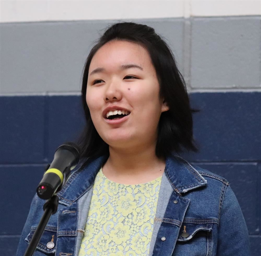 Congratulations to Joanne Lee, Ventura County Poetry Out Loud Champion