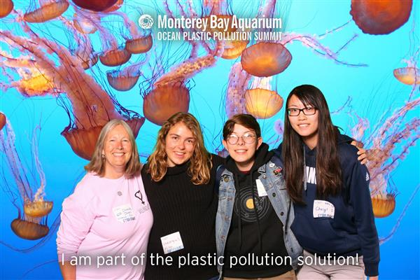 Villanova Students Attend the Ocean Pollution Summit at the Monterey Bay Aquarium